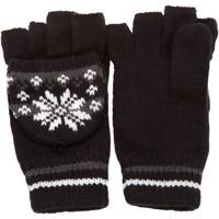 Accessoires textile Femme Gants Universal Textiles Patterned Noir/Gris
