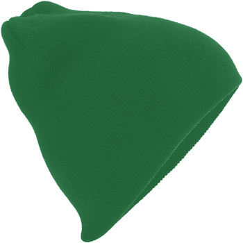 Accessoires textile Bonnets Beechfield B44 Vert bouteille