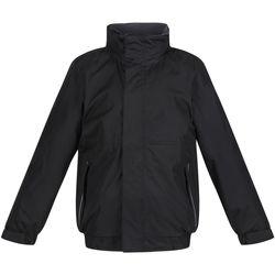 Vêtements Enfant Coupes vent Regatta TRW418 Noir/Cendre