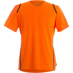 Vêtements Homme T-shirts manches courtes Gamegear Cooltex Orange/Noir