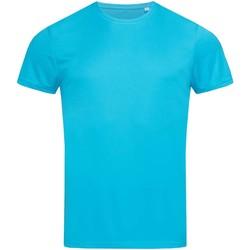 Vêtements Homme T-shirts manches courtes Stedman Active Turquoise