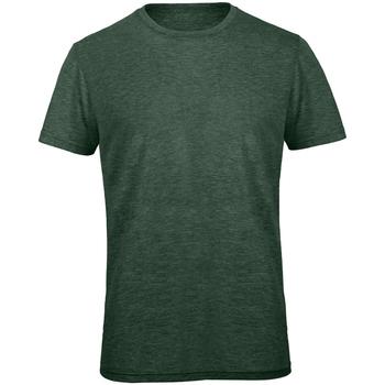 Vêtements Homme T-shirts manches courtes B And C Favourite Vert forêt chiné