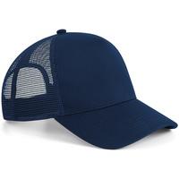 Accessoires textile Casquettes Beechfield Snapback Bleu marine