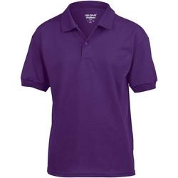 Vêtements Enfant Polos manches courtes Gildan 8800B Violet