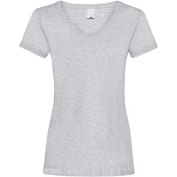 Vêtements Femme T-shirts manches courtes Universal Textiles Value Gris marne