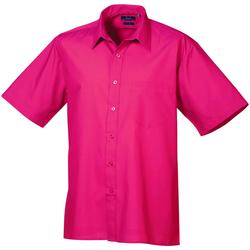 Vêtements Homme Chemises manches courtes Premier Poplin Rose