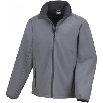 Vêtements Homme Polaires Result R231M Gris foncé/Noir