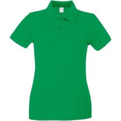 Vêtements Femme Polos manches courtes Universal Textiles 63030 Vert vif