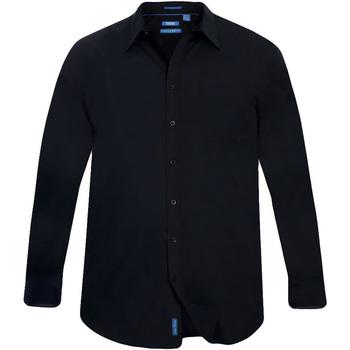 Vêtements Homme Chemises manches longues Duke Classics Noir