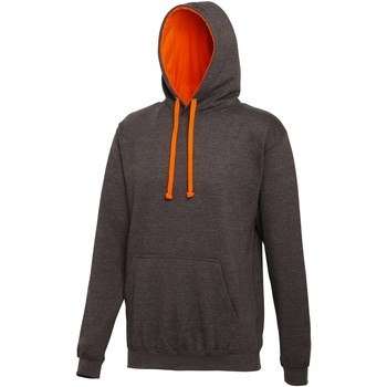 Vêtements Sweats Awdis Hooded Gris foncé / orange
