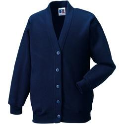 Vêtements Enfant Gilets / Cardigans Jerzees Schoolgear 273B Bleu marine