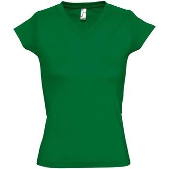 Vêtements Femme T-shirts manches courtes Sols Moon Vert