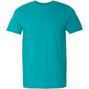 Vêtements Homme T-shirts manches courtes Gildan Soft-Style Jade