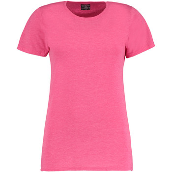 Vêtements Femme T-shirts manches courtes Kustom Kit Superwash Rose