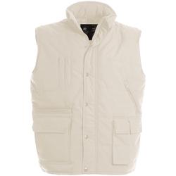 Vêtements Homme Gilets / Cardigans B And C Explorer Beige
