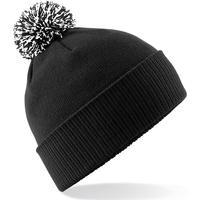 Accessoires textile Fille Bonnets Beechfield Snowstar Noir / blanc