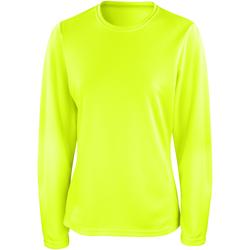 Vêtements Femme T-shirts manches longues Spiro Performance Vert citron