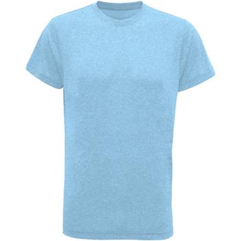 Vêtements Homme T-shirts manches courtes Tridri TR010 Turquoise chiné