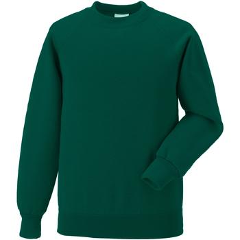 Vêtements Enfant Sweats Jerzees Schoolgear Raglan Vert bouteille