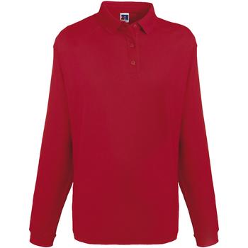 Vêtements Homme Sweats Russell Europe Sweatshirt avec col et boutons RW3275 Rouge classique