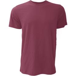 Vêtements Homme T-shirts manches courtes Bella + Canvas Jersey Bordeaux