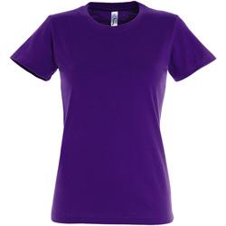 Vêtements Femme T-shirts manches courtes Sols Imperial Violet foncé