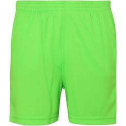 Vêtements Enfant Shorts / Bermudas Awdis JC80J Vert électrique
