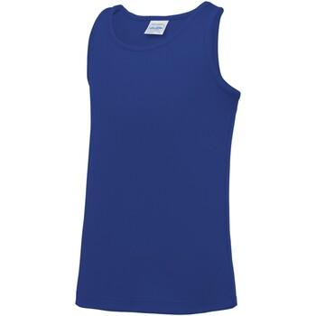 Vêtements Enfant Débardeurs / T-shirts sans manche Awdis JC07J Bleu roi