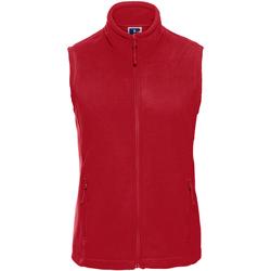 Vêtements Femme Polaires Russell Europe Veste polaire sans manches RW3273 Rouge