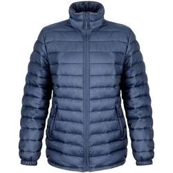 Vêtements Femme Doudounes Result R192F Bleu marine