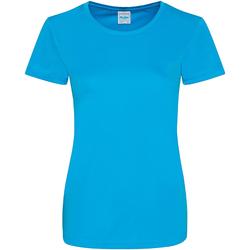 Vêtements Femme T-shirts manches courtes Awdis Girlie Bleu saphir