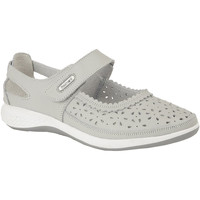 Chaussures Femme Ballerines / babies Boulevard Wide Fit Gris clair