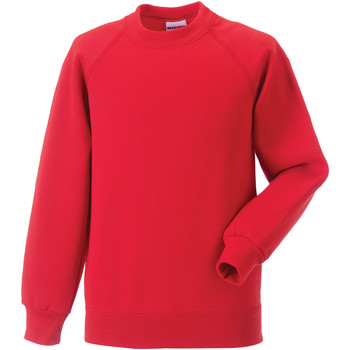 Vêtements Enfant Sweats Jerzees Schoolgear Raglan Rouge vif