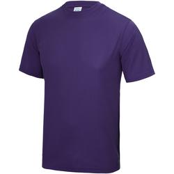 Vêtements Enfant T-shirts manches courtes Just Cool JC01J Violet