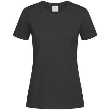 Vêtements Femme T-shirts manches courtes Stedman Comfort Noir
