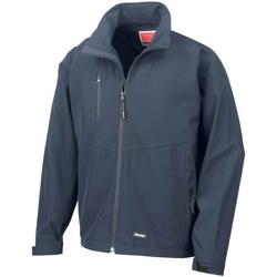 Vêtements Homme Coupes vent Result Softshell Bleu marine