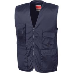 Vêtements Homme Gilets / Cardigans Result R45X Bleu marine foncé