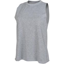 Vêtements Femme Débardeurs / T-shirts sans manche Skinni Fit High Neck Gris