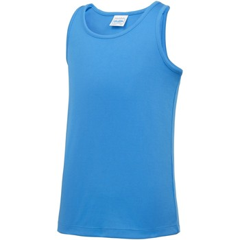 Vêtements Enfant Débardeurs / T-shirts sans manche Awdis JC07J Bleu saphir