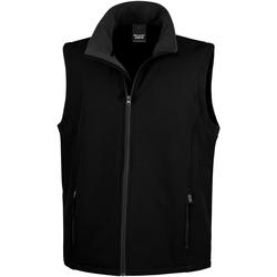 Vêtements Homme Polaires Result R232M Noir / Noir