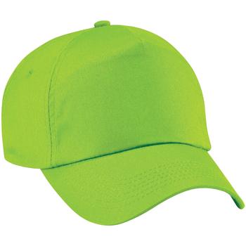 Accessoires textile Casquettes Beechfield Baseball Vert citron