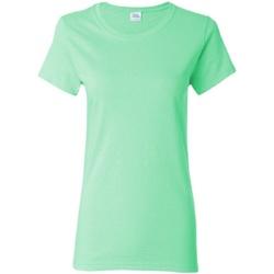 Vêtements Femme T-shirts manches courtes Gildan Missy Fit Vert menthe