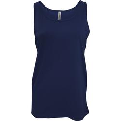 Vêtements Femme Débardeurs / T-shirts sans manche Bella + Canvas Jersey Bleu marine
