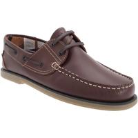Chaussures Homme Chaussures bateau Dek Moccasin Cuir marron