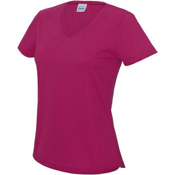 Vêtements Femme T-shirts manches courtes Awdis Girlie Rose