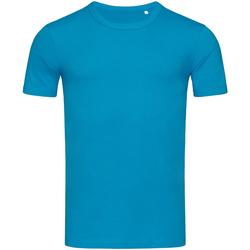 Vêtements Homme T-shirts manches courtes Stedman Stars Morgan Turquoise