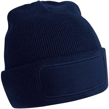Accessoires textile Bonnets Beechfield B445 Bleu marine