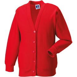 Vêtements Enfant Gilets / Cardigans Jerzees Schoolgear 273B Rouge vif