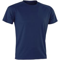 Vêtements Homme T-shirts manches courtes Spiro Aircool Bleu marine