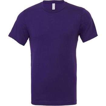 Vêtements Homme T-shirts manches courtes Bella + Canvas Jersey Pourpre